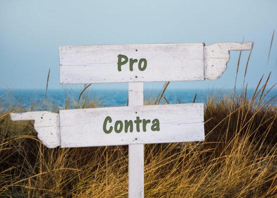 Pro & Kontra Wegweiser